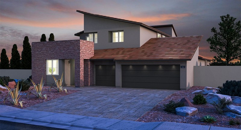 Graycliff homes in Summerlin by Lennar