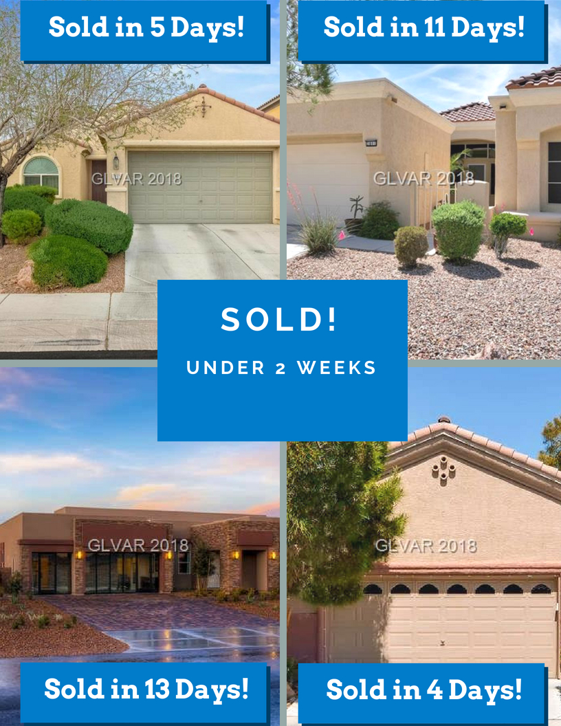 Recent homes sold by Las Vegas realtor Leslie Hoke