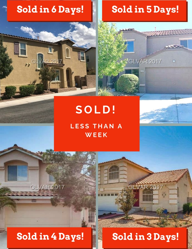 Las Vegas homes sold by Leslie Hoke