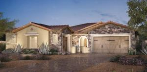 Malta house design by Toll Brothers - Los Altos at Paseos, Summerlin