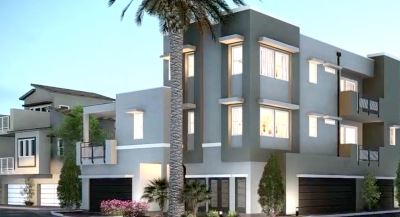 Moda homes in Affinity in Summerlin Centre