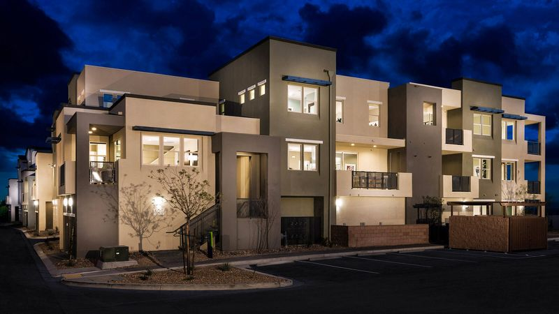 Homes in Moda at Affinity in Summerlin, Las Vegas, by builder Taylor Morrison