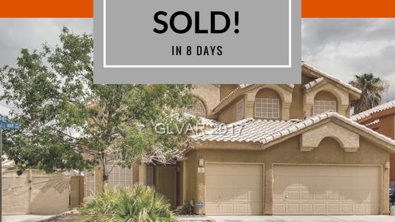 North Las Vegas Home sold by Leslie Hoke