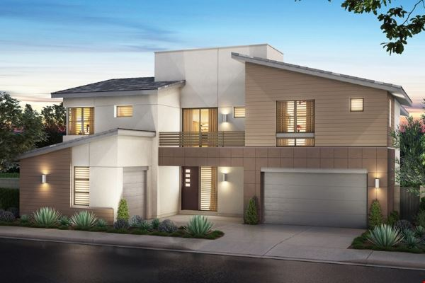 Nova Ridge homes in the Cliffs at Summerlin