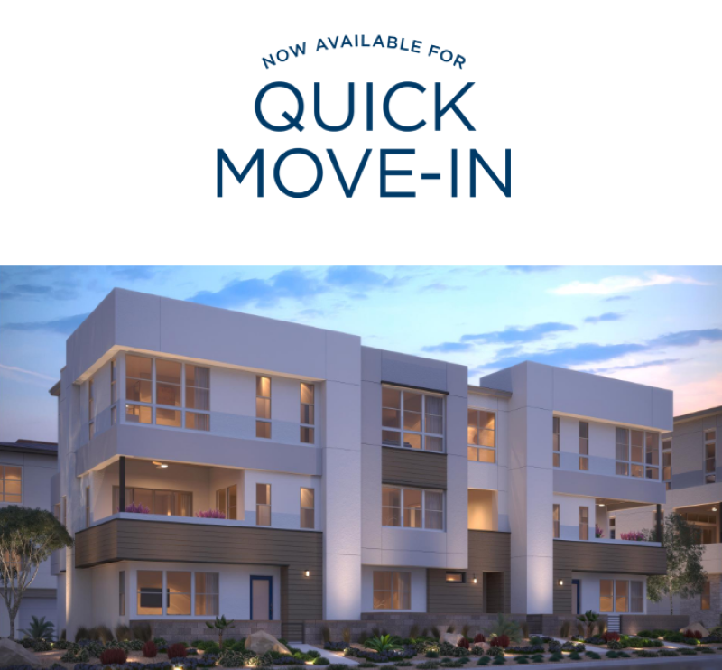 Quick Move-In homes by Toll Brothers, Las Vegas NV