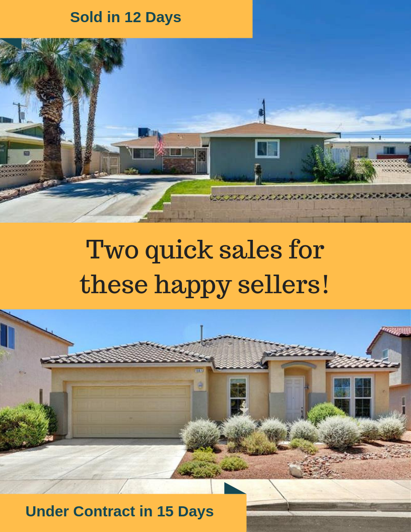 Quick Las Vegas home sales in July 2019