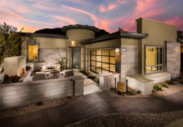 Summit Collection homes by Toll Brothers in Regency at Summerlin