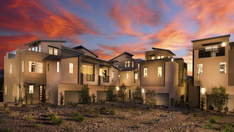 Homes in Revo at Affinity in Summerlin, Las Vegas, by builder Taylor Morrison
