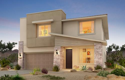 C1 Pulte home at Vistara, Summerlin