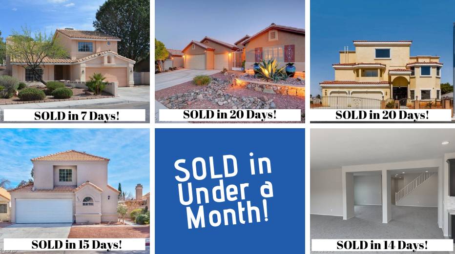 Featured Home Sales by Las Vegas Homes by Leslie