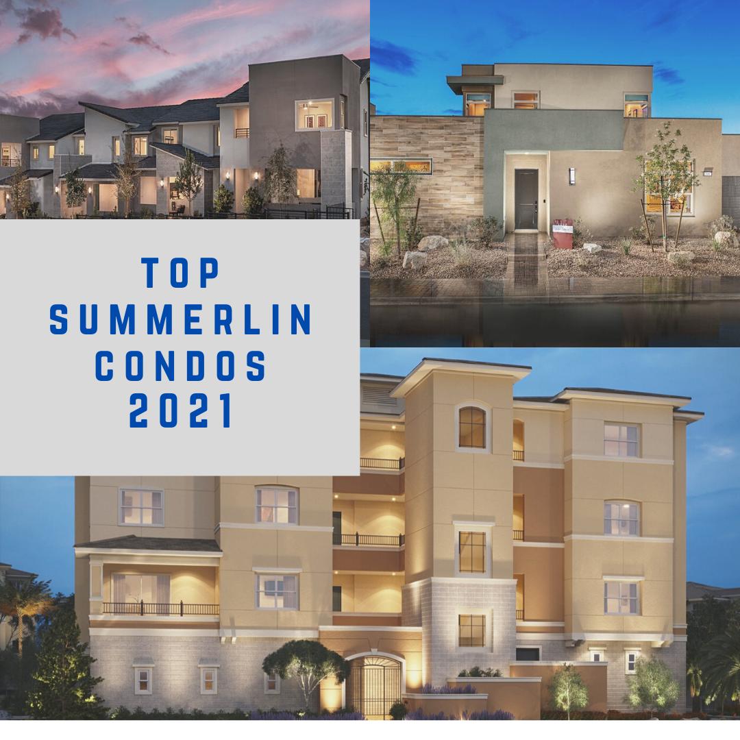Top selling Summerlin condos in 2021