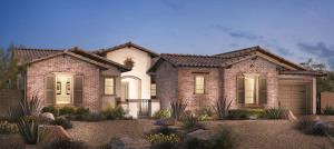 Taranto house design by Toll Brothers - Los Altos at Paseos, Summerlin