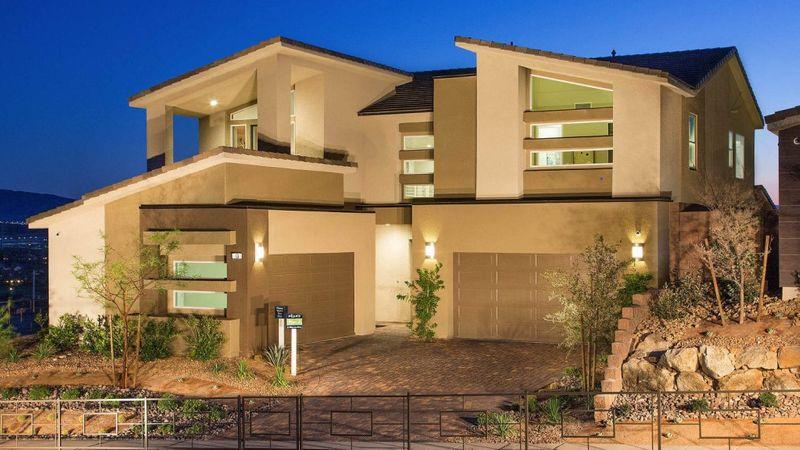 Homes in The Peaks, Lake Las Vegas, Henderson, by builder Taylor Morrison