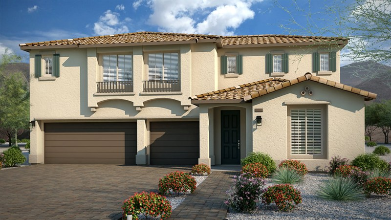 Touchstone Living homes in The Views at Hidden Hills, Las Vegas