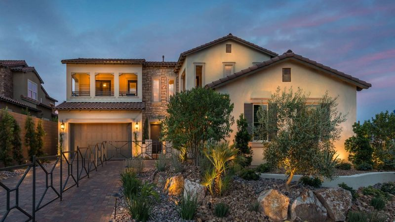 Homes in Tuscan Cliffs, the Southern Highlands, Las Vegas, by builder Taylor Morrison