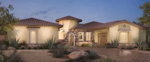 Verano home design by Toll Brothers - Los Altos at Paseos, Summerlin