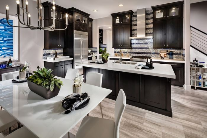 Toll Brothers kitchen in Vista Dulce at the Mesa, Summerlin