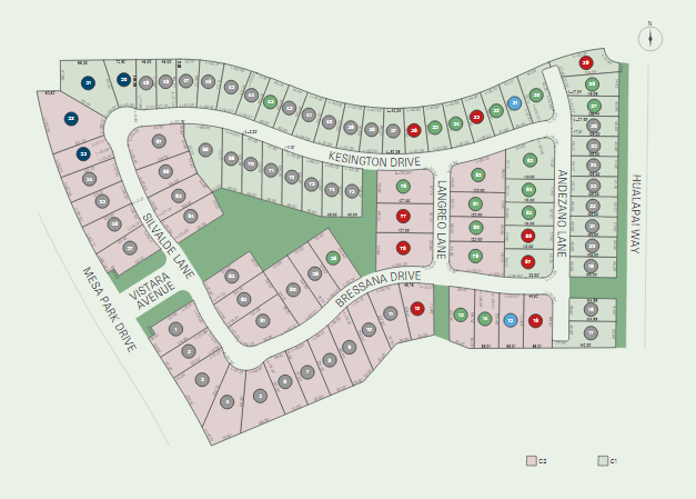 Vistara site plan, Summerlin
