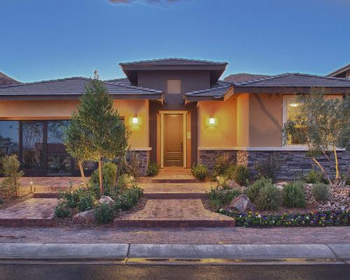 Cielo at the Mesa, Summerlin - Balboa home by Woodside