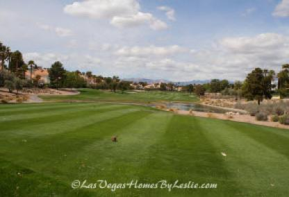 Canyon Gate Neighborhood Homes Community Golf Course Las Vegas