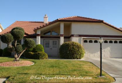Las Vegas Neigborhood Los Prados Community Single Story Home