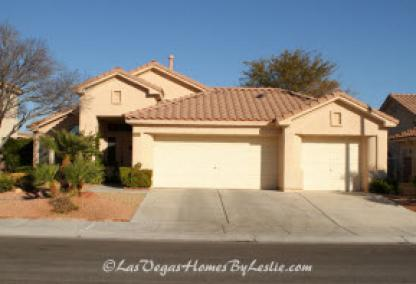 Las Vegas Neigborhood Los Prados Golf Community Home
