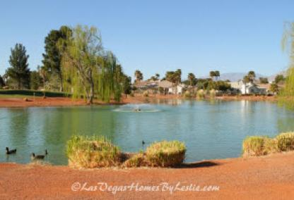 Las Vegas Neigborhood Los Prados Golf Course Community