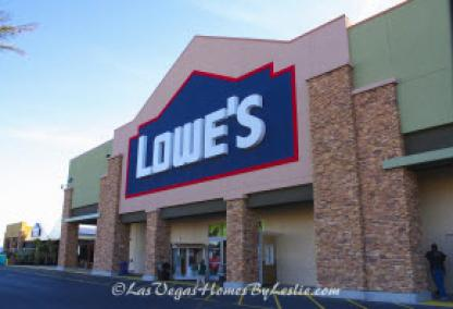 Las Vegas Neighborhood Centennial Hills Community Shopping Lowes