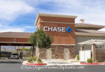 Las Vegas Neighborhood Iron Mountain Ranch Chase Bank