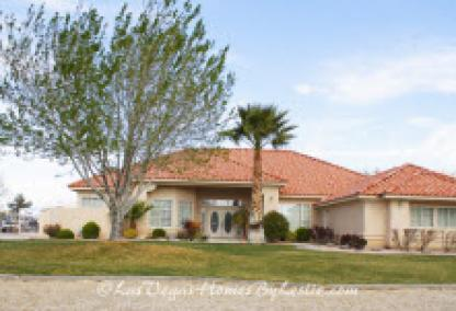 Las Vegas Neighborhood Iron Mountain Ranch Style Home