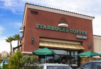 Las Vegas Neighborhood Providence Starbucks Coffee