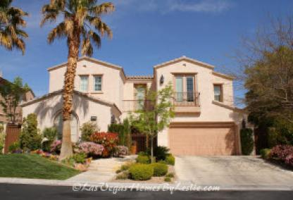 Red Rock Country Club Golf Course Home in Las Vegas