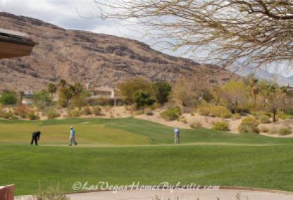 Red Rock Country Club Golf Course Homes in Las Vegas View