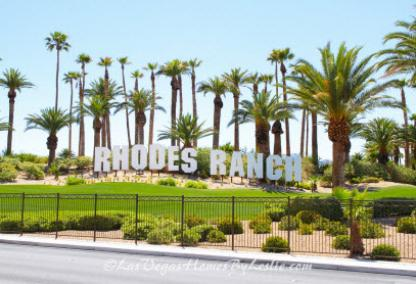 Rhodes Ranch Neighborhood Gated Golf Course Community Las Vegas
