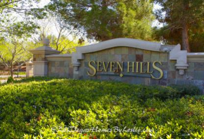 Seven Hills Neighborhood Gated Community Henderson NV