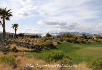 Siena Adult Neighborhood Golf Community Las Vegas Homes on Course