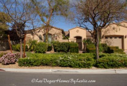 Siena Adult Neighborhood Golf Community Las Vegas Single Story Homes