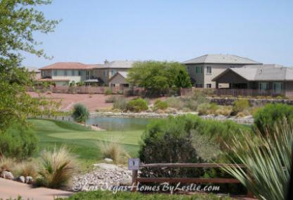 Silverstone Ranch Neighborhood Las Vegas Community Golf Course Homes