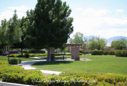 Silverstone Ranch Neighborhood Park And Community Golf Course Homes Las Vegas