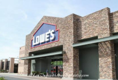 Summerlin Las Vegas Community Shopping Center Lowes