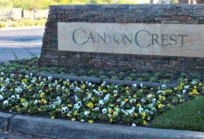 Entrance to Canyon Crest in The Canyons of Summerlin