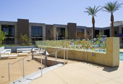 Juhl Lofts, Las Vegas,patio