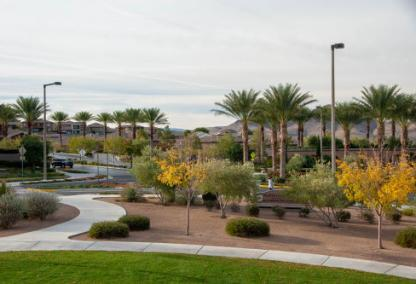 Madeira Canyon Park, Henderson NV - sitting area
