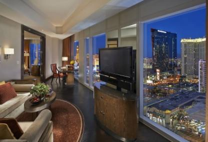 Waldorf Astoria Condo Las Vegas high rise view