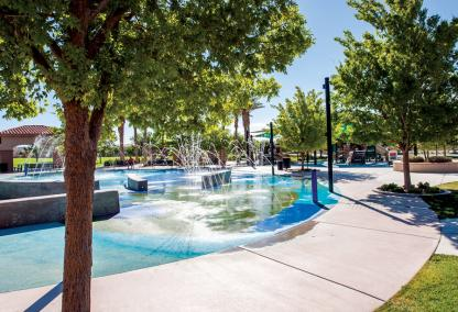 Paseos Park in Summerlin, Las Vegas