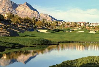Golf in the Ridges at Summerlin, NV