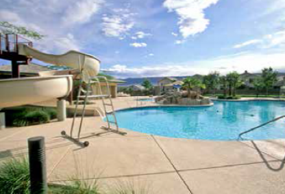 Willows swimming pool, Summerlin